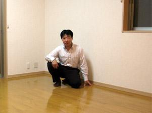 千葉県の新築一戸建てにUVフロアコーティング