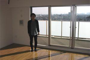 千葉県船橋市のUVフロアコーティング施工