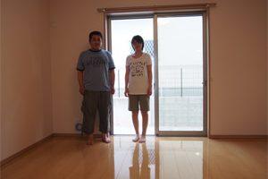 奈良県にてUVフロアコーティングのお客様の声