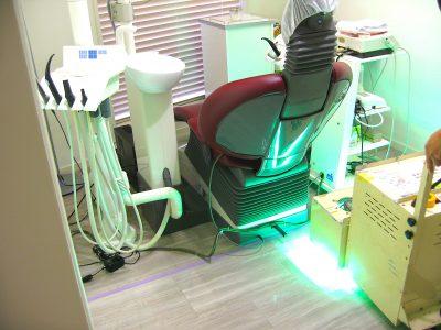 歯科クリニック(医療機関)へのUVフロアコーティング