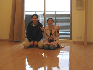 UVフロアコーティング 東京都大田区 在宅マンション