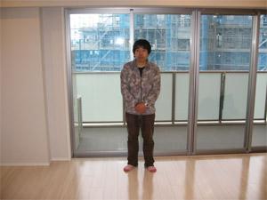 UVフロアコーティング 東京都目黒区 新築マンション