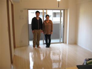 UVフロアコーティング|東京都羽村市|新築マンション