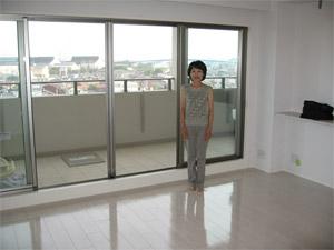 UVフロアコーティング 千葉県印西市 新築マンション