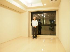 UVフロアコーティング 東京品川区 新築マンション