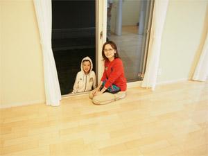 UVフロアコーティング|新築一戸建て|ダイワハウス