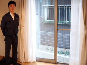 愛知県の飯田産業物件にてサンロードアートへのUVフロアコーティング