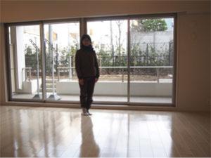 東京都の新築マンションにUVフロアコーティング