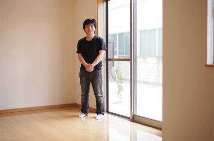 愛知県新築戸建てへのUVフロアコーティング
