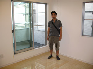 UVフロアコーティング 大阪市中央区 ダイワハウス