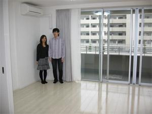UVフロアコーティング|横浜市青葉区|新築マンション