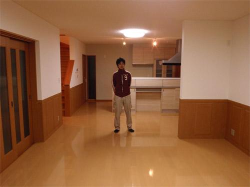 UVフロアコーティング|東京都練馬区|新築一戸建て