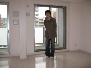 UVフロアコーティング/神奈川県川崎市/新築マンション