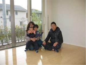 UVフロアコーティング 兵庫県神戸市 新築一戸建て