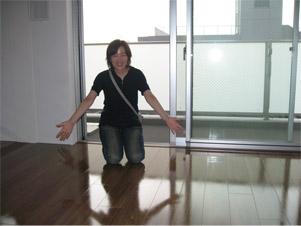 UVフロアコーティング 東京都世田谷区 新築マンション