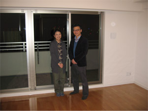 UVフロアコーティング|大阪市中央区|新築マンション