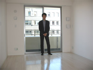 UVフロアコーティング|大阪市北区|新築マンション