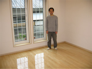 UVフロアコーティング|埼玉県ふじみ野市|新築戸建て