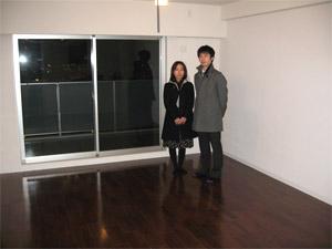 UVフロアコーティング 東京都中央区 新築マンション