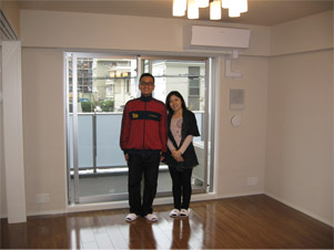 UVフロアコーティング|東京都東大和市|新築マンション