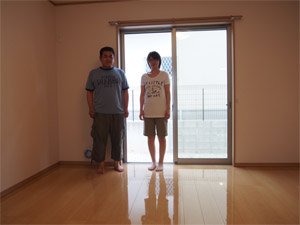 UVフロアコーティング|兵庫県|新築マンション