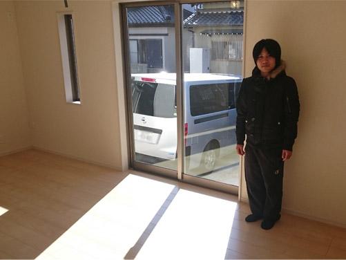 フローリングガラスコーティング|名古屋市|新築一戸建て