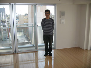 UVフロアコーティング施工|神奈川県横浜市都筑区|新築マンション