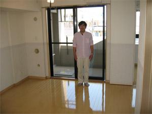 UVフロアコーティング|東京都江東区|新築マンション