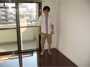 一条工務店の新築マンションにUVフロアコーティング