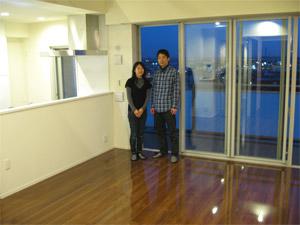 UVフロアコーティング|兵庫県神戸市|新築マンション