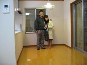 UVフロアコーティング|横浜市港北区|新築一戸建て
