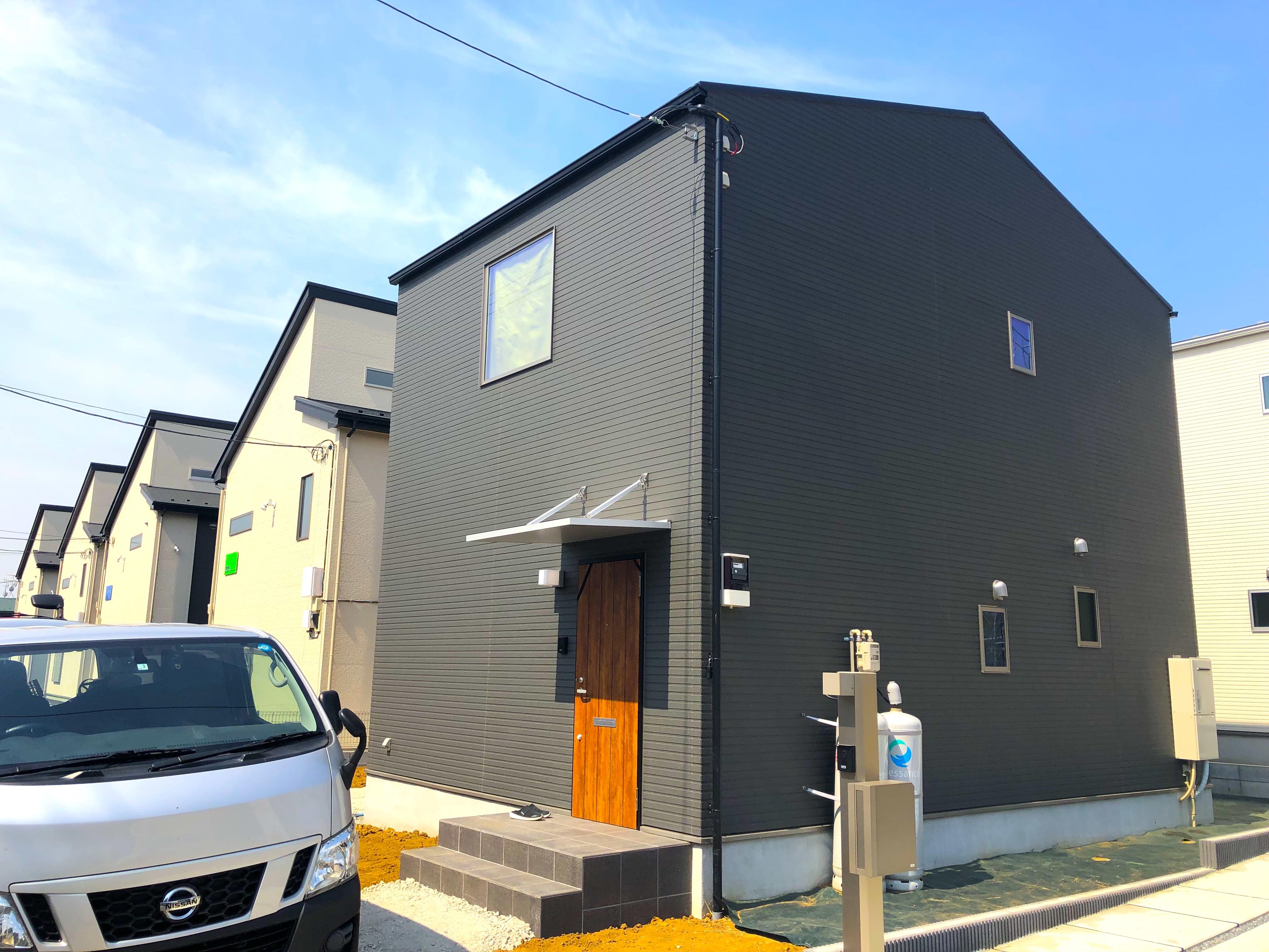 千葉県白井市の新築一戸建てにUVフロアコーティング