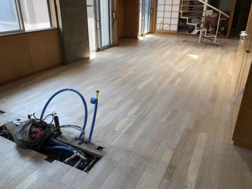 床研磨ならフロアサンディングのCleanExpressにお任せ下さい!