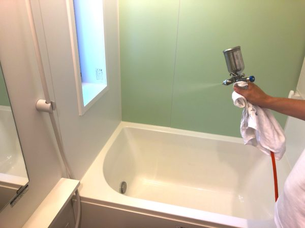 リノベーションマンションで水まわり光触媒コーティング