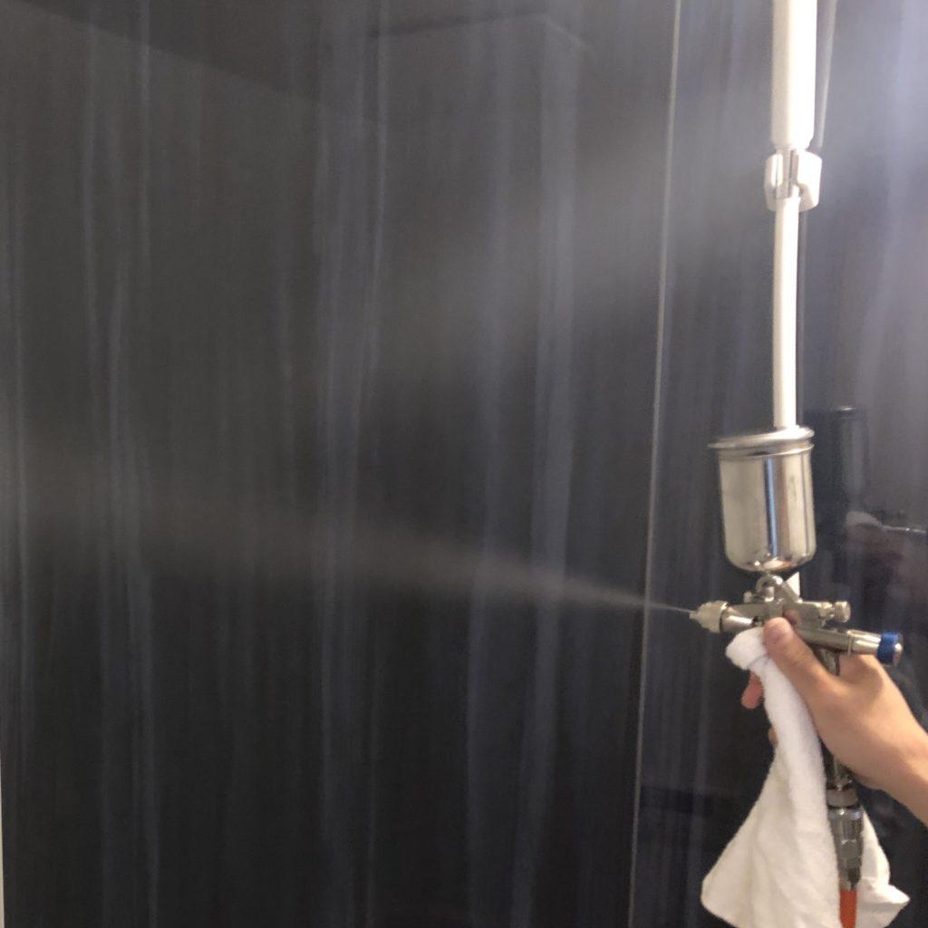 光触媒で防カビ抗菌コーティング