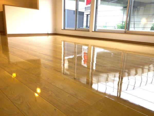 施工実績|神奈川県大和市|UVフロアコーティング施工