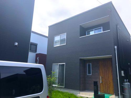 施工実績|千葉県新築一戸建て|UVフロアコーティング|パイン系フローリング