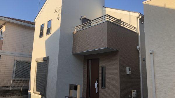 群馬県前橋市の新築一戸建てにUVフロアコーティング