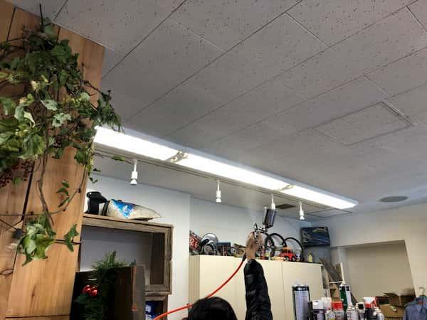 理容店への光触媒コーティング